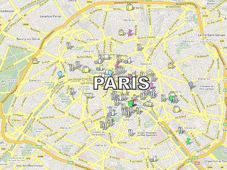 Paris Google Map
